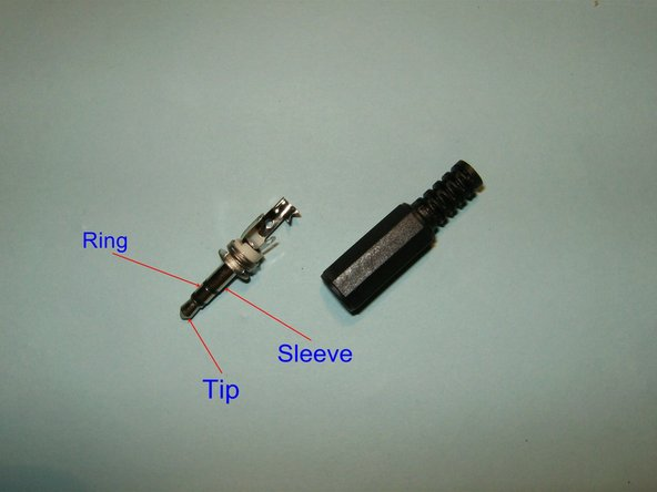 Image 1/3: TRS stands for tip-ring-sleeve, and is the standard connector for audio jacks.