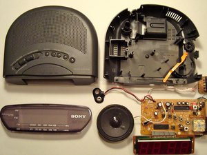 Sony Dream Machine ICF-C211 Teardown