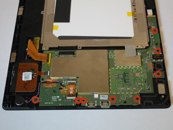 Remove the 3.16mm screws highlighted in red