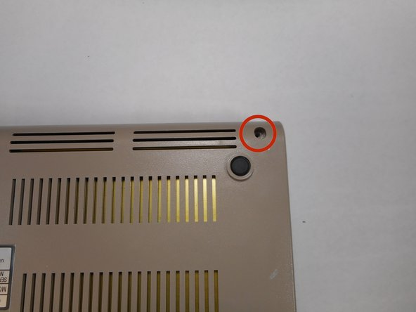 1. Remove three 6.75mm ph2 screw heads from the casing