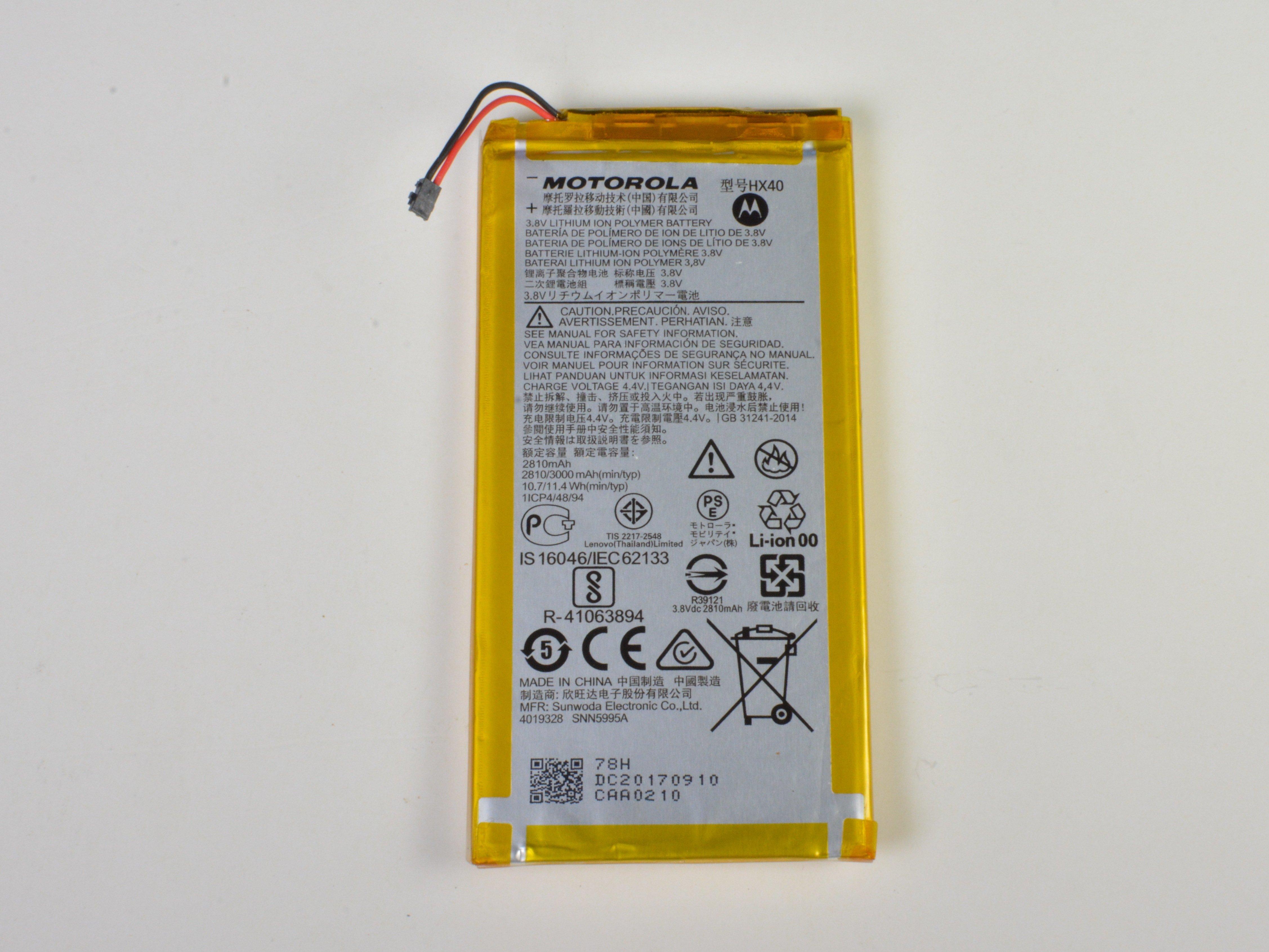 Motorola Moto X4 Battery Replacement - iFixit Repair Guide