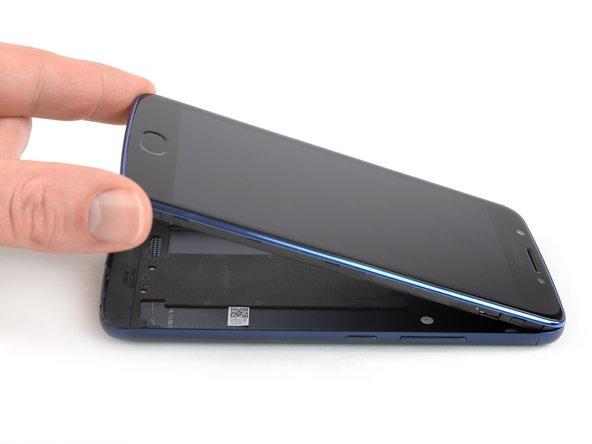 Sostituzione cover posteriore Motorola Moto E4 (XT1762)