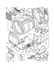 How do I fix an E1 error message - Kenmore Elite HE3 Dryer