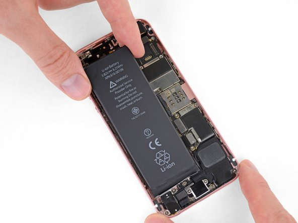 Once the battery sticks, you can't reposition or remove it without destroying the adhesive strips and starting over.