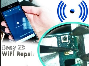 How to REPAIR WIERELESS WIFI CONNECTION in Sony Xperia Z3