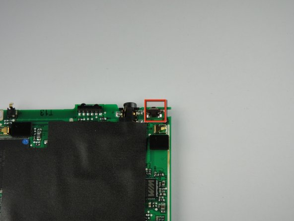 Palm TX Power Button Replacement