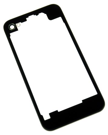 Transparent rear panel for iPhone 4