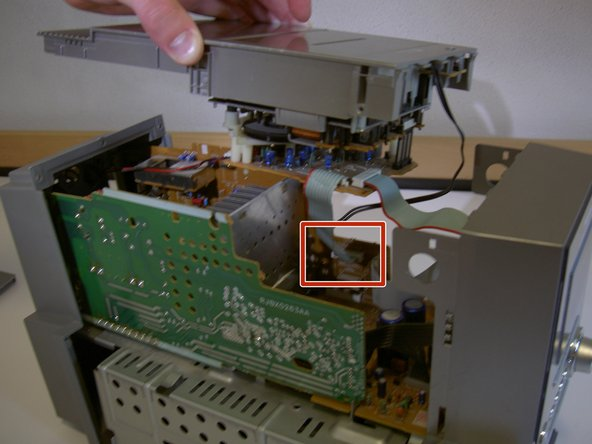 This step deals with the indicated area of the device.