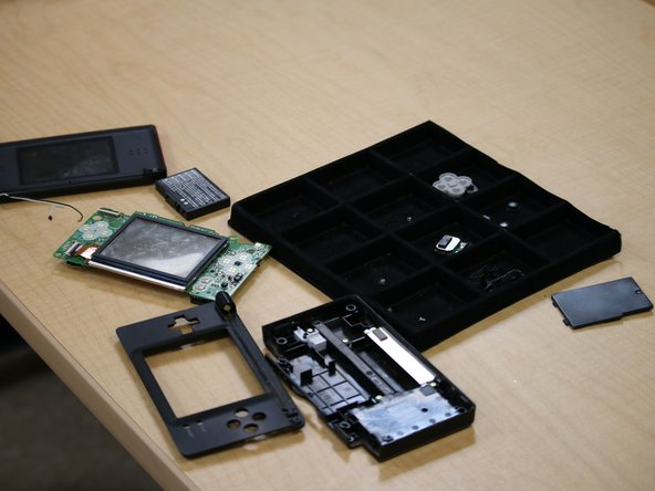 It's at this point that most DS Teardowns and Part Replacements end.