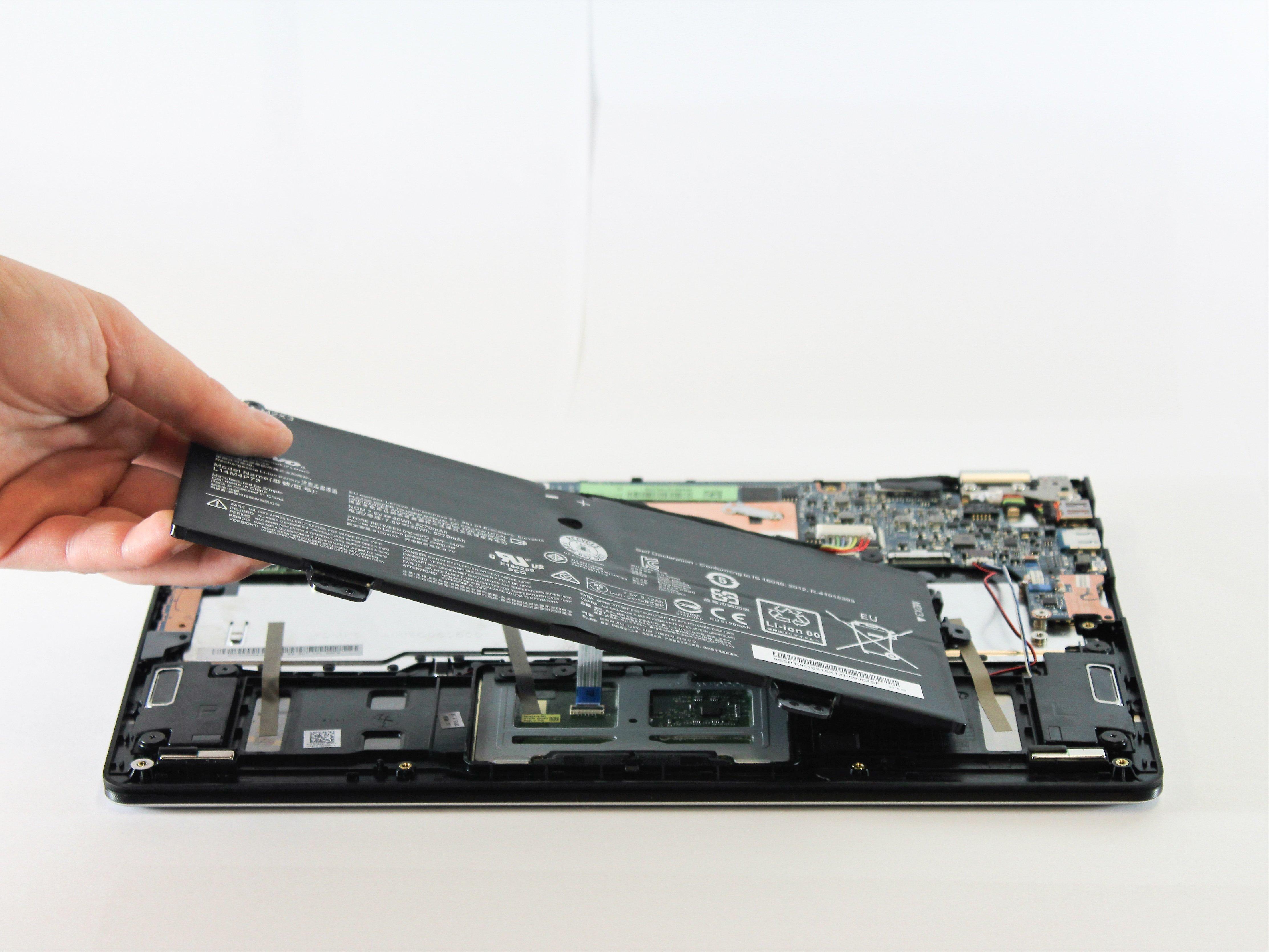 מדהים Lenovo Yoga 700-11ISK Battery Replacement - iFixit Repair Guide SG-78