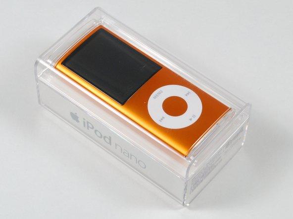 The iPod Nano 4G!