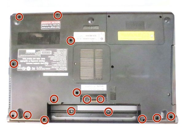 Sony VAIO VPCF 132FX Bottom Case Replacement