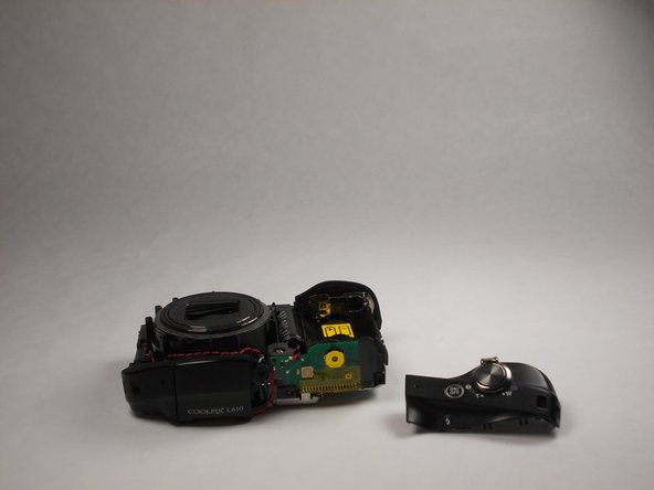 Nikon Coolpix L610 Power/Shutter Button Assembly Replacement