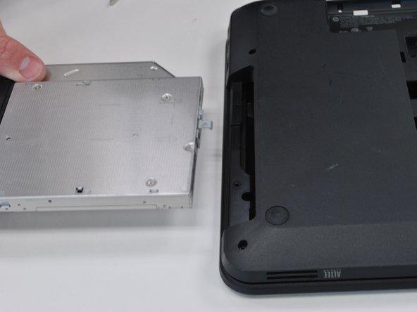 HP Pavilion G6-1d16dx Optical drive Replacement