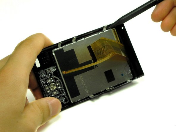 Panasonic Lumix DMC-ZS3 LCD Screen Replacement