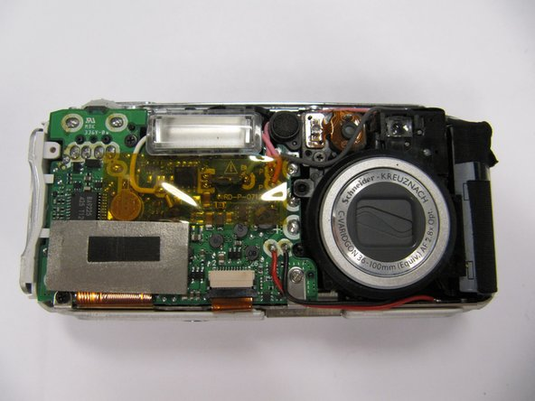 Kodak EasyShare LS743 Camera Case Disassembly