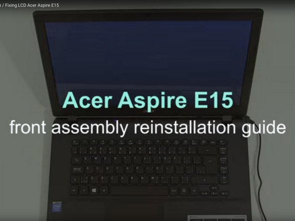 Acer Aspire E5-521-23KH and E15 Laptop Screens screens Replacement