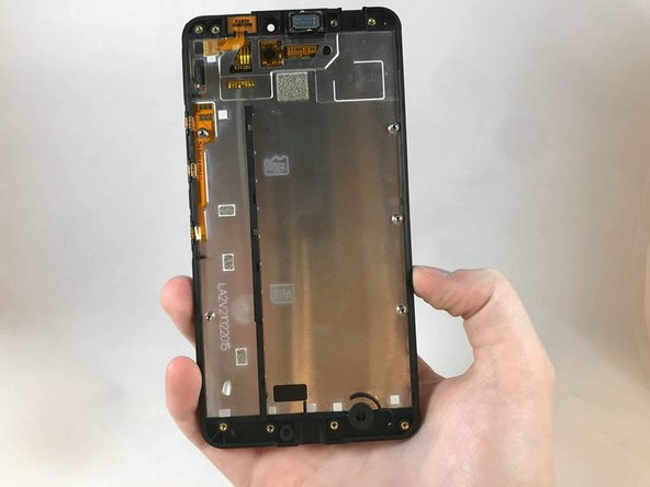 Remove the screen from the device.