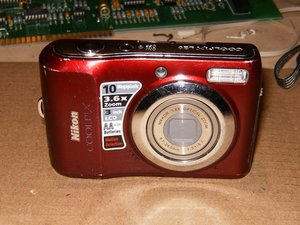 Nikon Coolpix L20 Repair