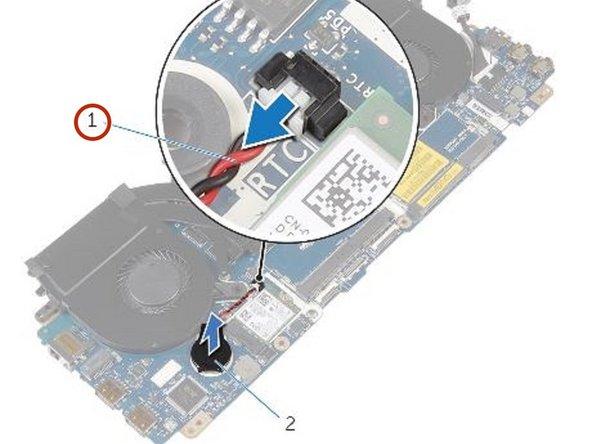 Dell Alienware 13 - Reemplazo del Batería de Celda de Moneda