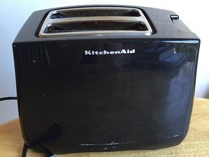Repairing Kitchenaid KTT340OB0 Catch Lever