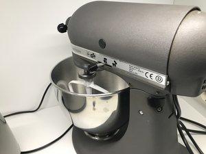 Reparatur der Rührkopf-Verriegelung