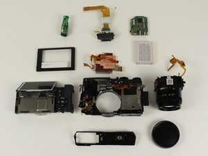 Disassembling Fujifilm X30 Camera