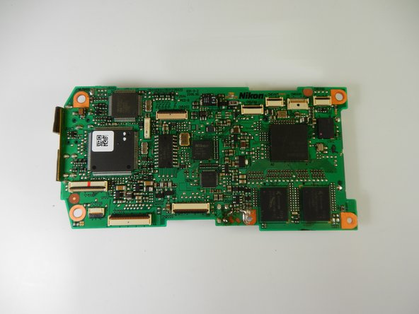 Nikon D40 Mainboard Replacement