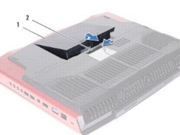 Dell Alienware M18x Reemplazo del paquete de baterías