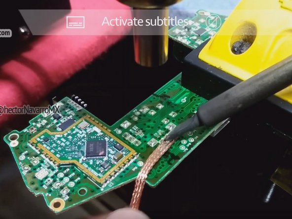 Welding technique: How to replace the joystick potentiometer