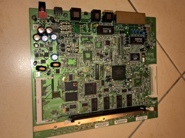 Cisco 878 Integrated Services Router Motherboard Disassembly
