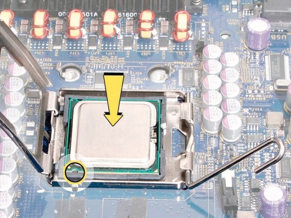 """This procedure applies to 2.8 GHz and 3.0 GHz configurations of the Mac Pro (Early 2008). For the 3.2 GHz configuration, see the notes that mention """"Processors, 3.2 GHz."""""""