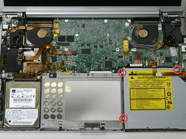 "PowerBook G4 Aluminum 17"" 1-1.67 GHz SuperDrive Replacement"