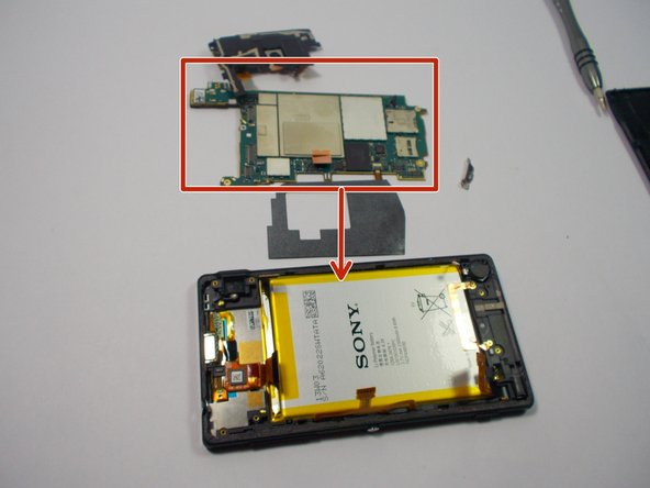 Removing the camera and everything that comes with it makes the electrical panel easily come off.  Gently pry off the electrical panel.