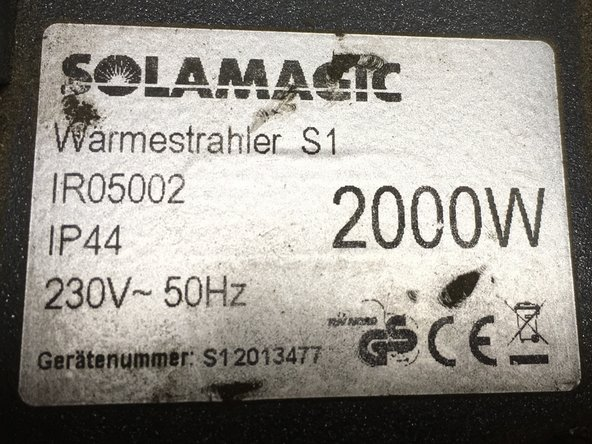 SolaMagic S1 heater Lamp Replacement