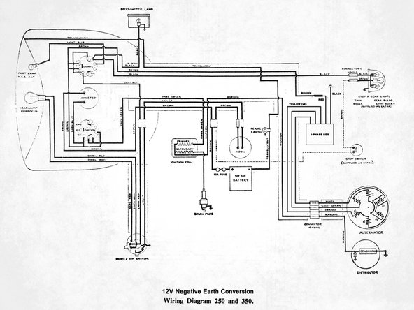 Two Wire Alternator Wiring Diagram