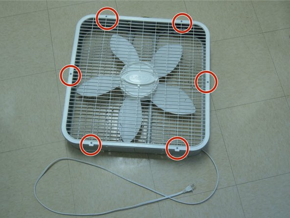 Lasko Box Fan Back Wire Repair iFixit Repair Guide