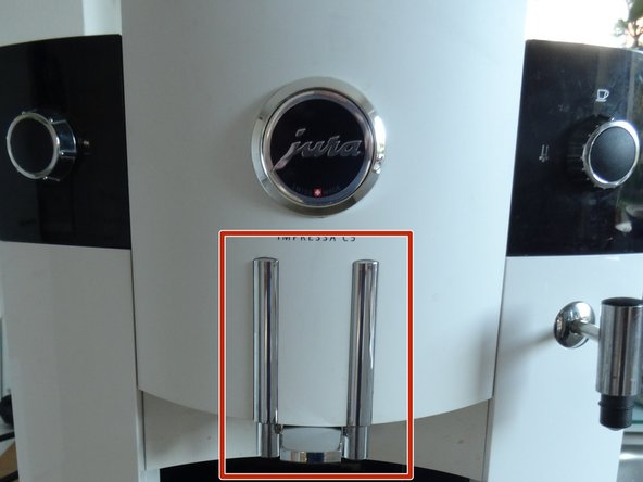 Jura Impressa C E F Modelle Kaffeeauslauf tauschen
