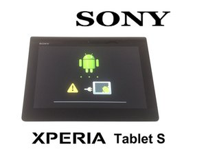 Sony Tablet S Factory / Hard reset