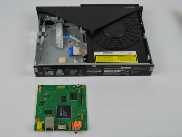 Sony BDP-S3200 Motherboard Replacement
