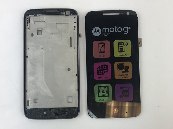 Motorola Moto G4 Play Screen Replacement