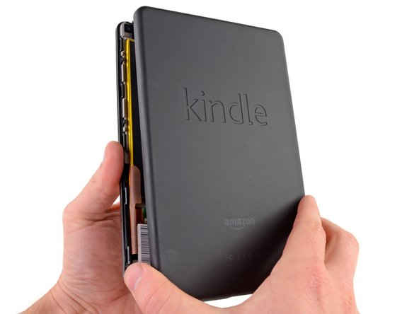 Image 2/3: Thankfully the Kindle's case separates with a lot less effort than a [guide|1158|certain|stepid=6158] [guide|595|product|stepid=3064] [guide|584|line|stepid=2933] we know.