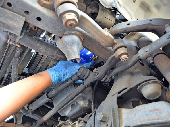 Place the threaded end of the oil filter onto the engine's oil filter threads, being careful to not get dirt or debris on the filter's gasket.