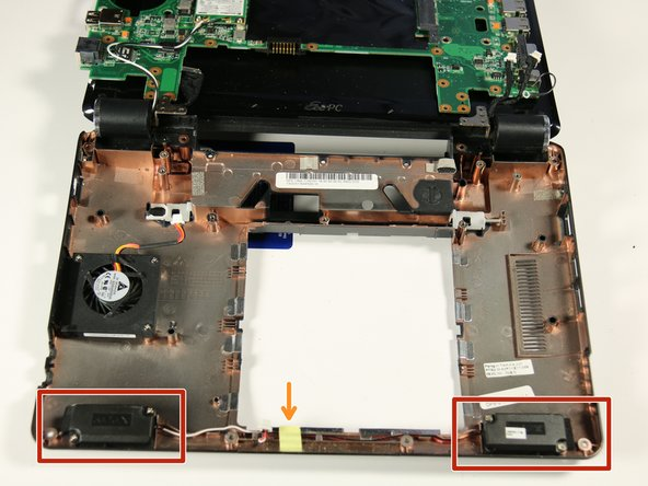 Asus Eee PC 1000HE Speaker Replacement