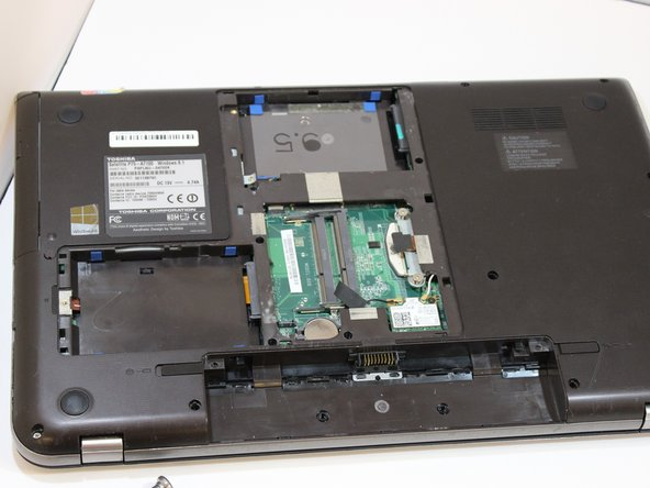 Remove the optical drive from the device.