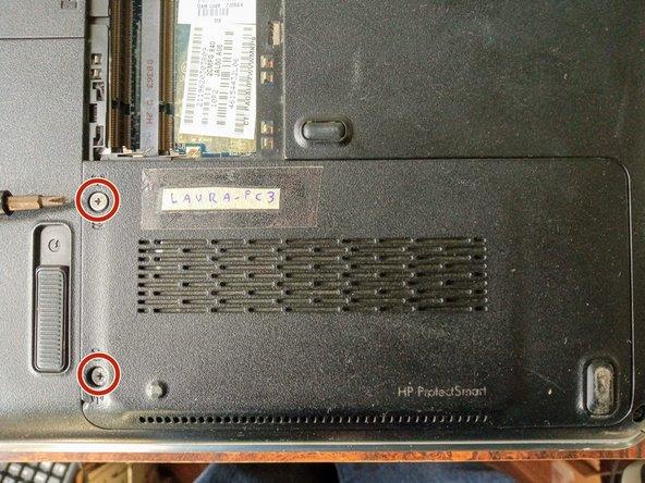 Reemplazo de disco duro en laptop HP Pavilion dv4-1120us