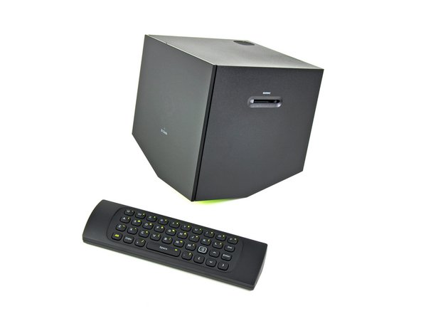 It's hard to ignore how much taller the Boxee Box is than the Apple TV and Logitech Revue. This half-sunken cube will definitely stand out in your entertainment system.