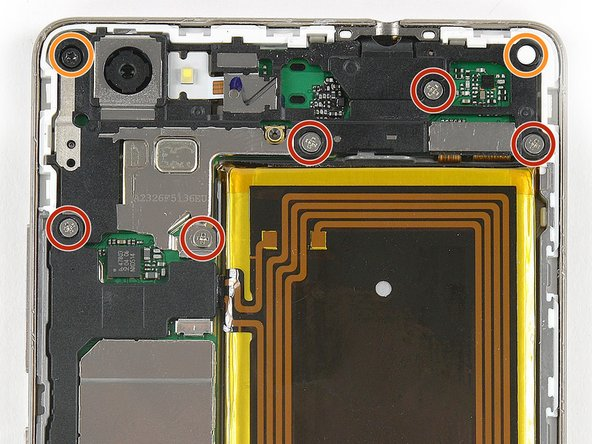 Remove the two Torx T5 screws.