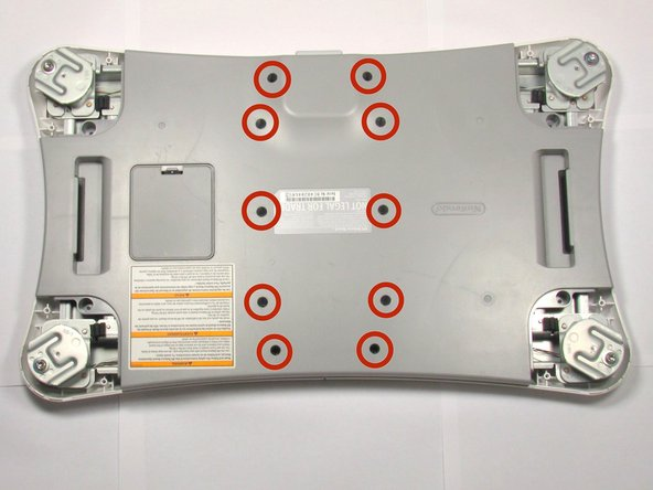 Wii Balance Board Back Cover Replacement