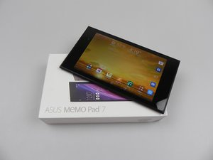 Asus MeMO Pad 7 Troubleshooting